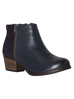 Clara Cleated Heel Ankle Boot