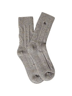 Cable Lounge Sock