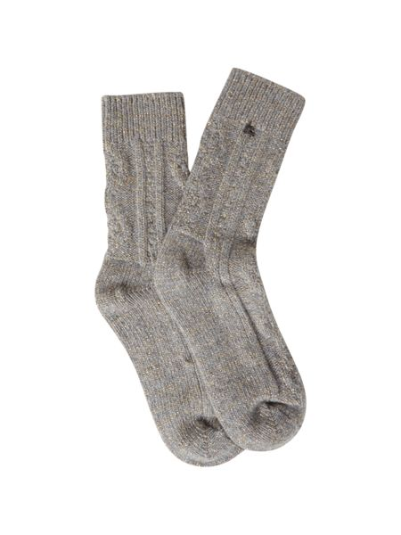 White Stuff Cable Lounge Sock