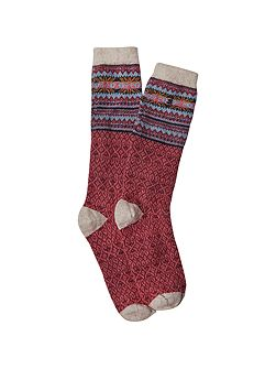 Multi Fairsisle Sock