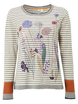 Fennel Embroided Jumper