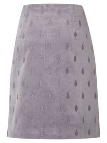 White Stuff Senna Velvet Emb Skirt