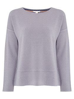 Mineral Textured Jersey Top