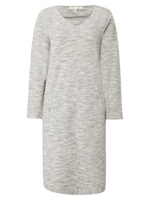 White Stuff Easy Marl Jersey Dress