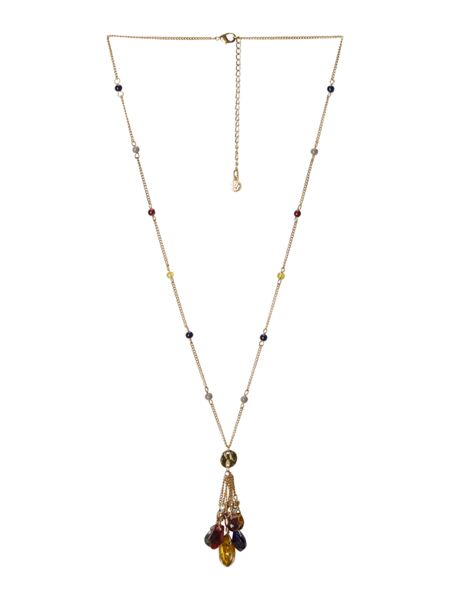 White Stuff Silk Road Lariat Necklace