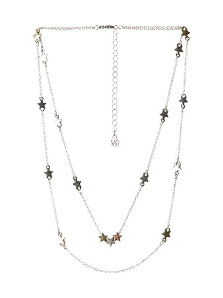 White Stuff Layered Star Necklace