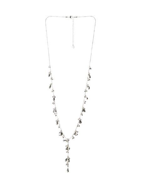 White Stuff Eva Lariat Necklace