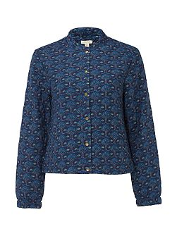 Elora Quilted Printed Jacket