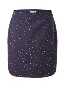 White Stuff Magical Garden Spot Emb Skirt