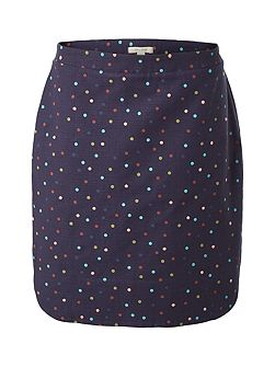 Magical Garden Spot Emb Skirt