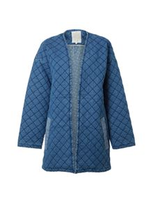 White Stuff Quilted Homespun Jacket