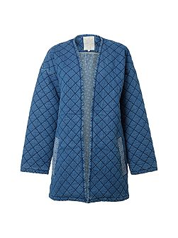 Quilted Homespun Jacket