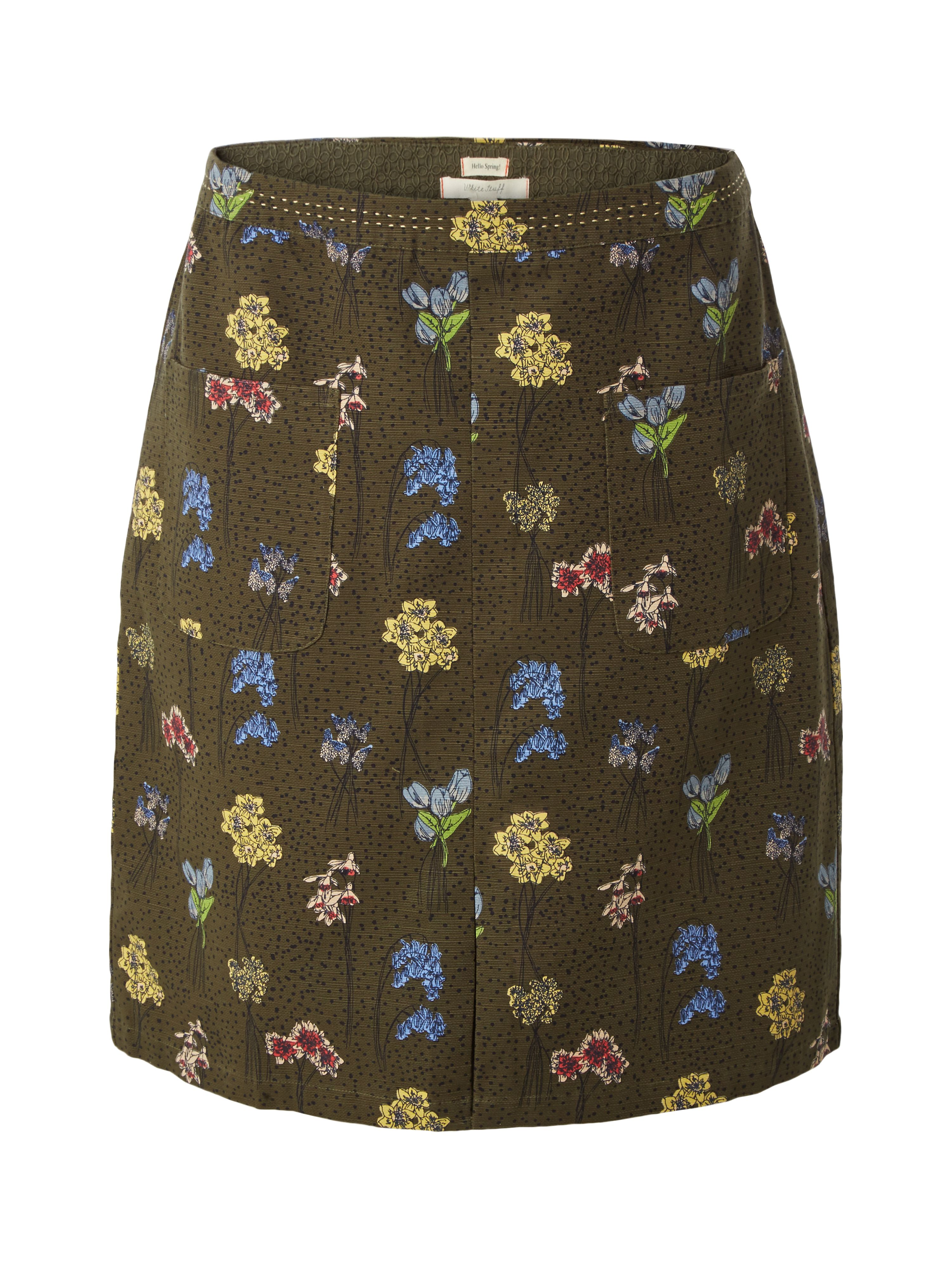 White Stuff Bluebell Skirt, Green