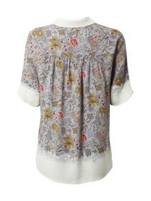 White Stuff Ditsy Bird Shirt