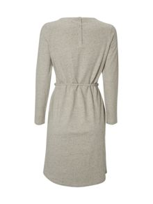White Stuff Plain Blueshore Jersey Dress