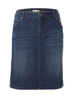 Country Walk Denim Skirt