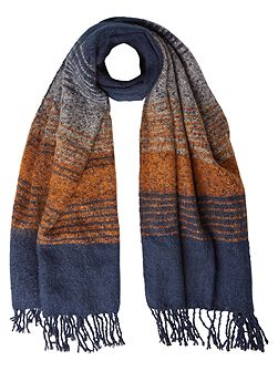 Hannah Stripe Midweight Scarf