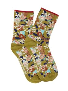 White Stuff Florence Floral Socks