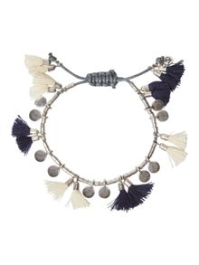 White Stuff Holly Tassel Bracelet