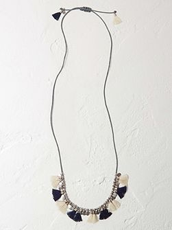 Holly Tassel Necklace