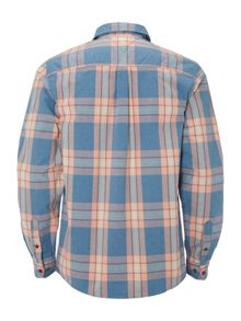 White Stuff Papeda oxford check long sleeve shirt
