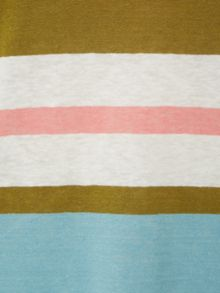 White Stuff Polly Bold Stripe Jersey Tee