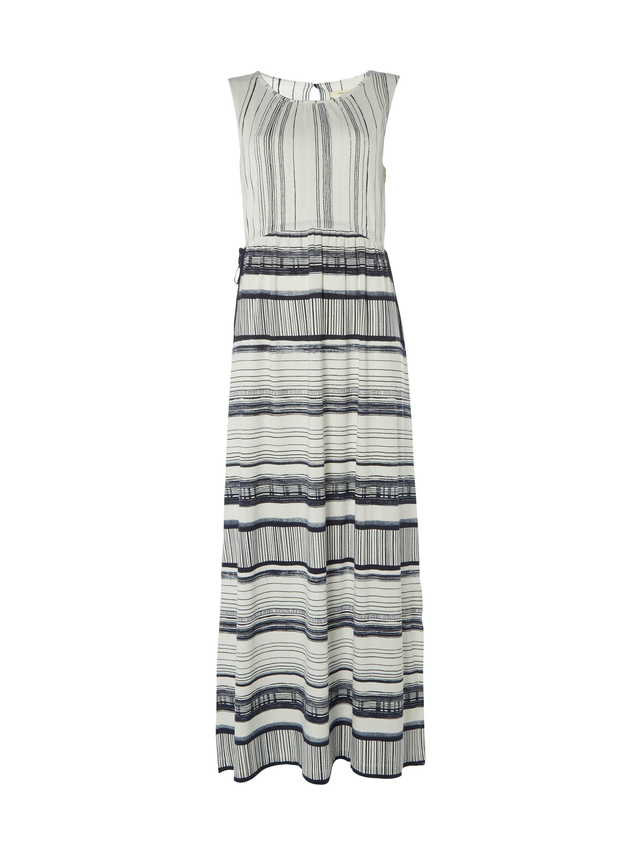 White Stuff Laura Jersey Maxi Dress, Multi-Coloured