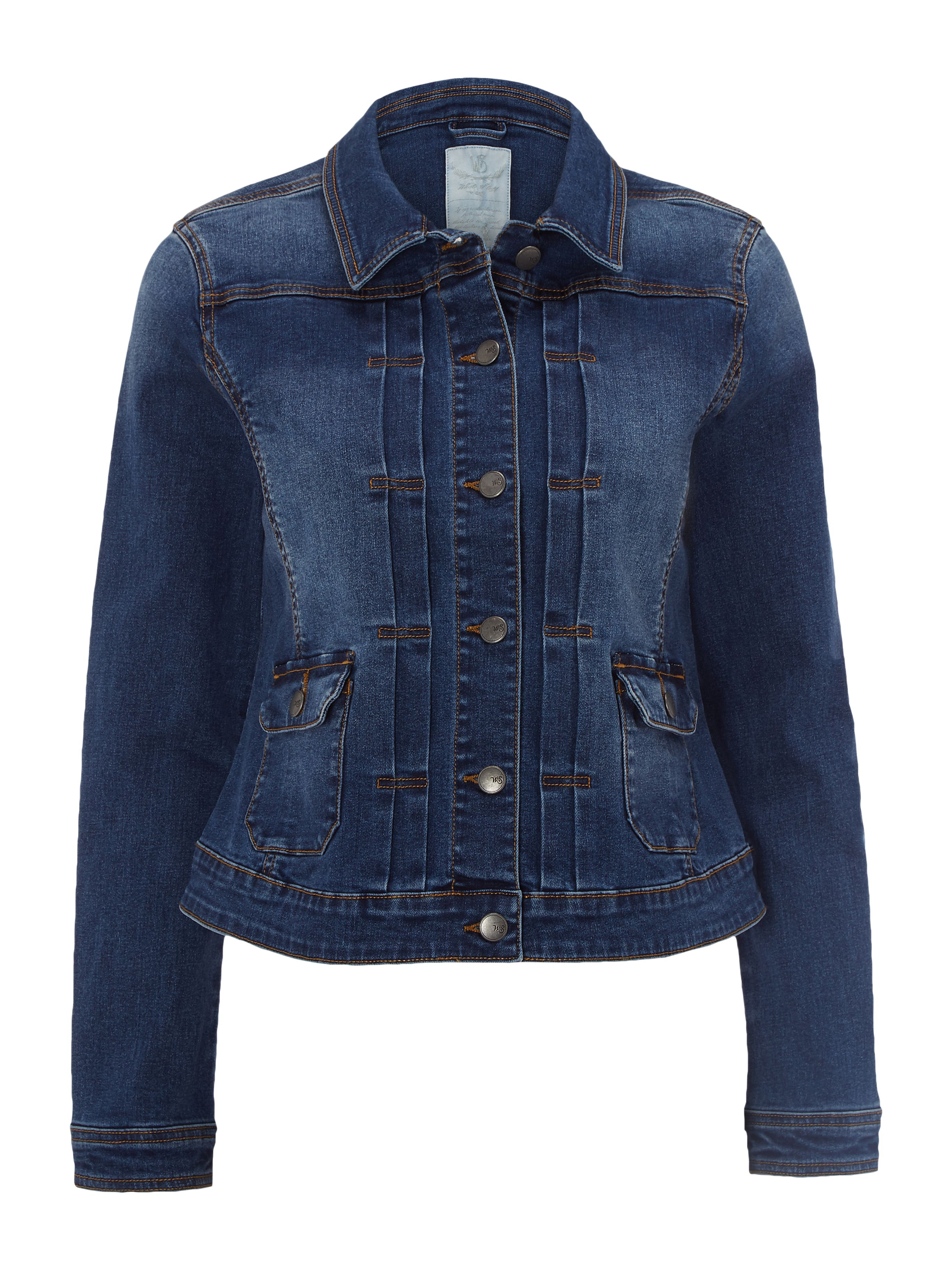 White Stuff Delilah Denim Jacket, Denim