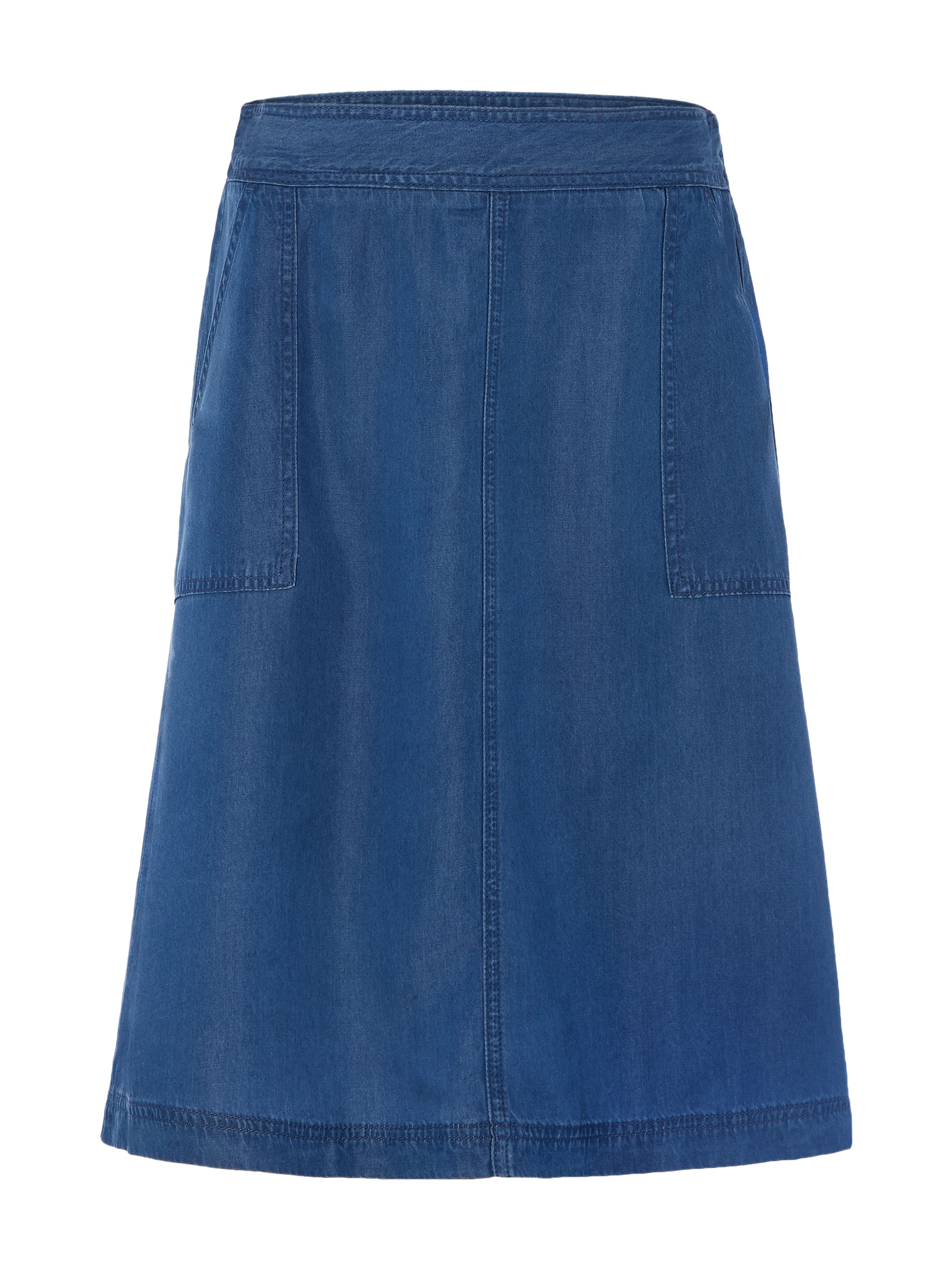 White Stuff Peppercorn Skirt, Blue