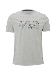 White Stuff Plane Cluster Graphic Tee