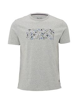 Plane Cluster Graphic Tee