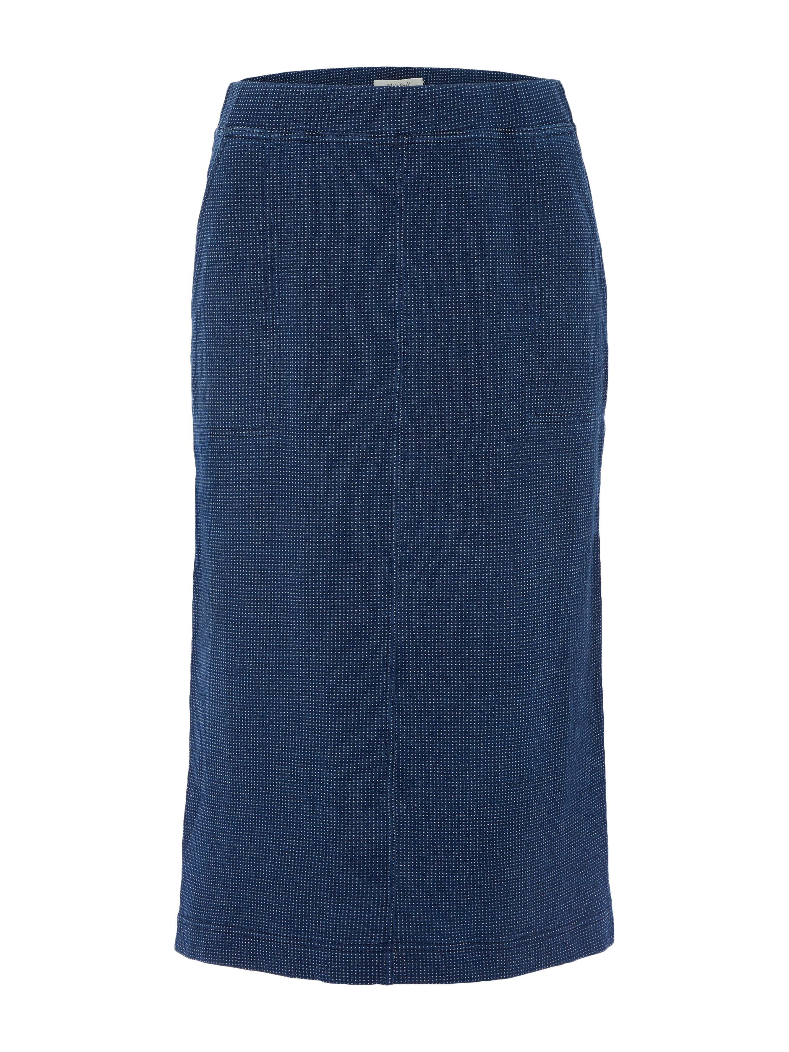 White Stuff Backwater Jersey Skirt, Blue