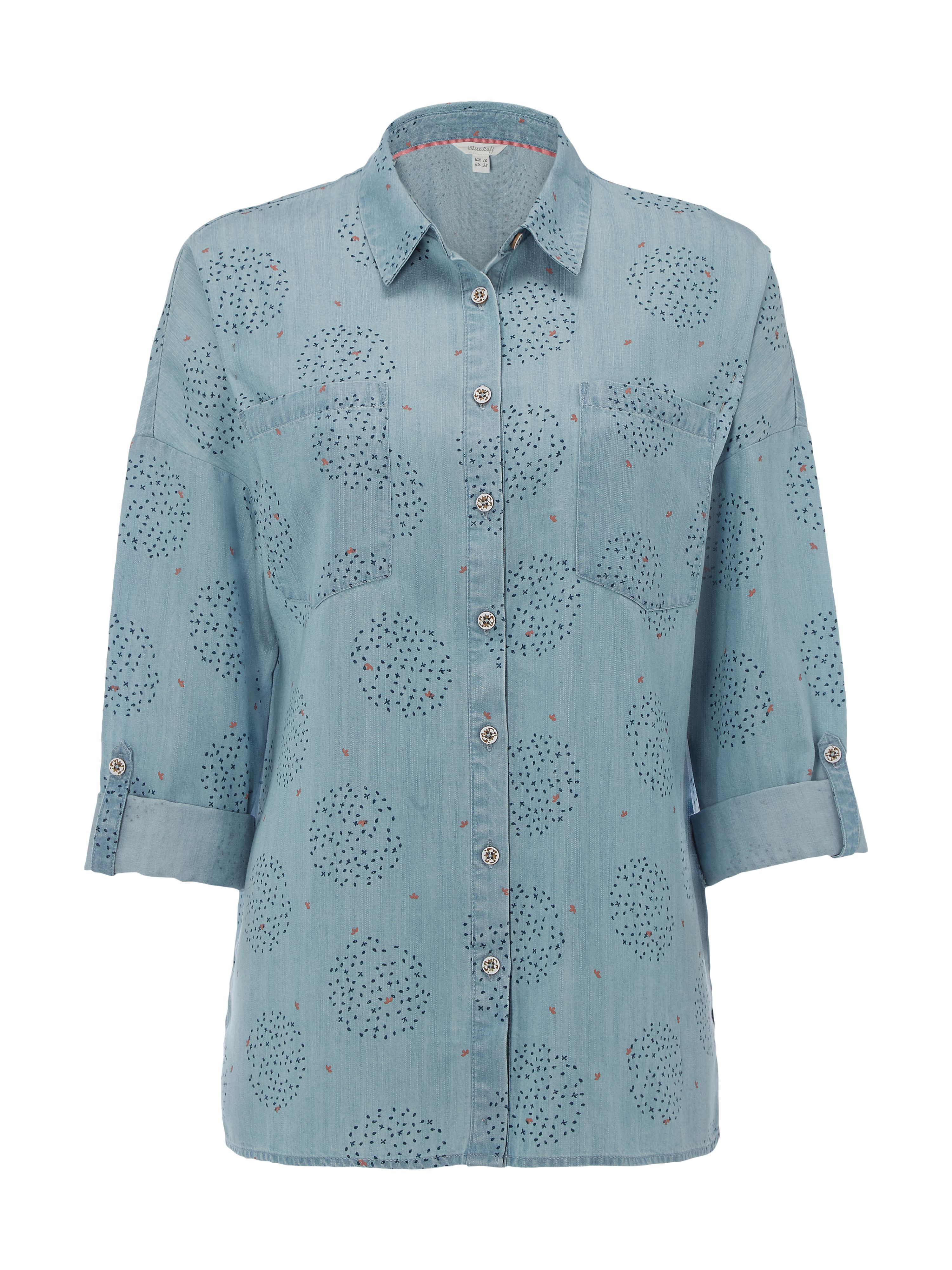 White Stuff Rupee Shirt, Denim