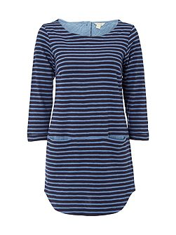 Stripe You Jersey Tunic