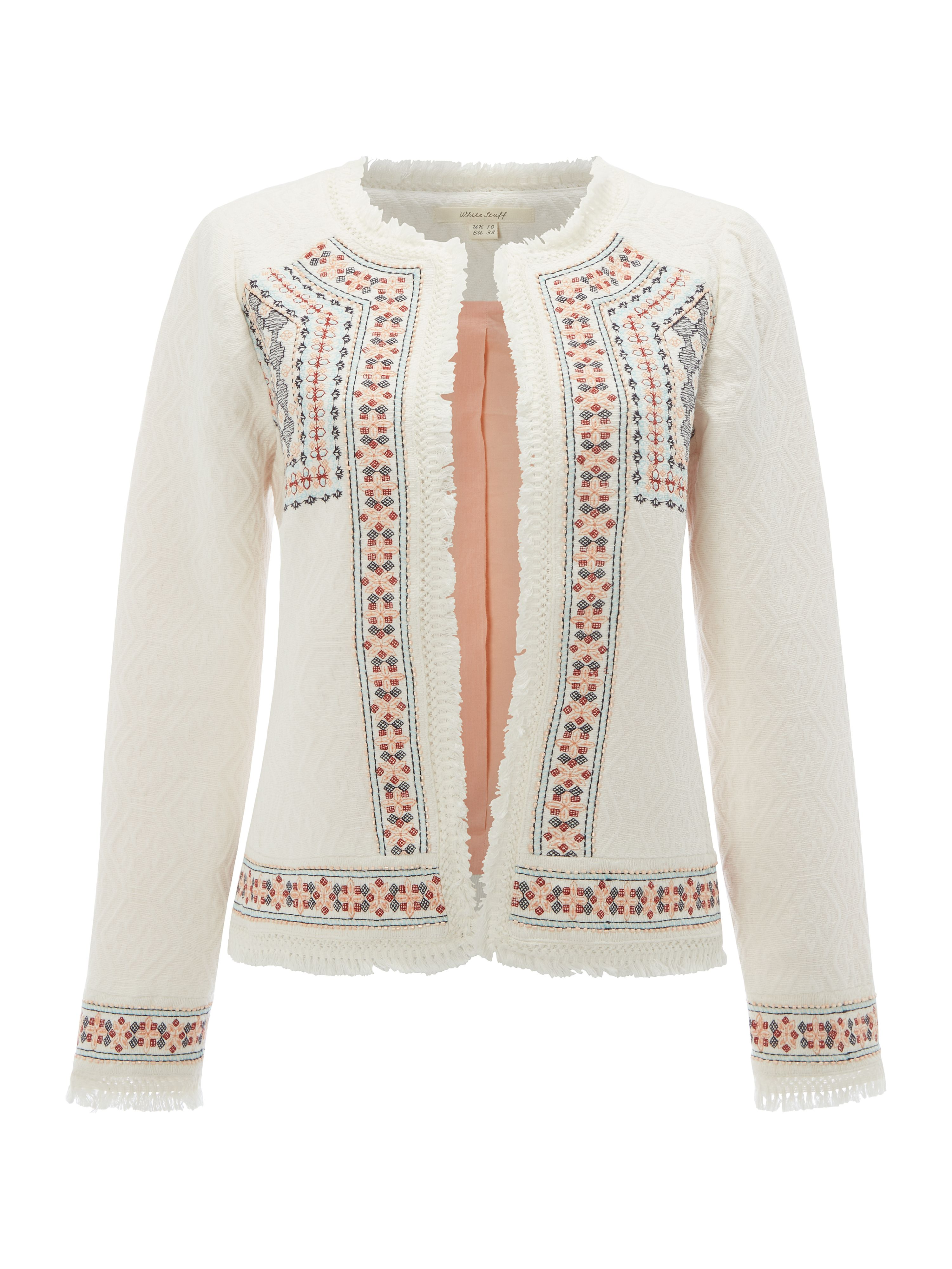 White Stuff Vimara Trophy Jacket, White