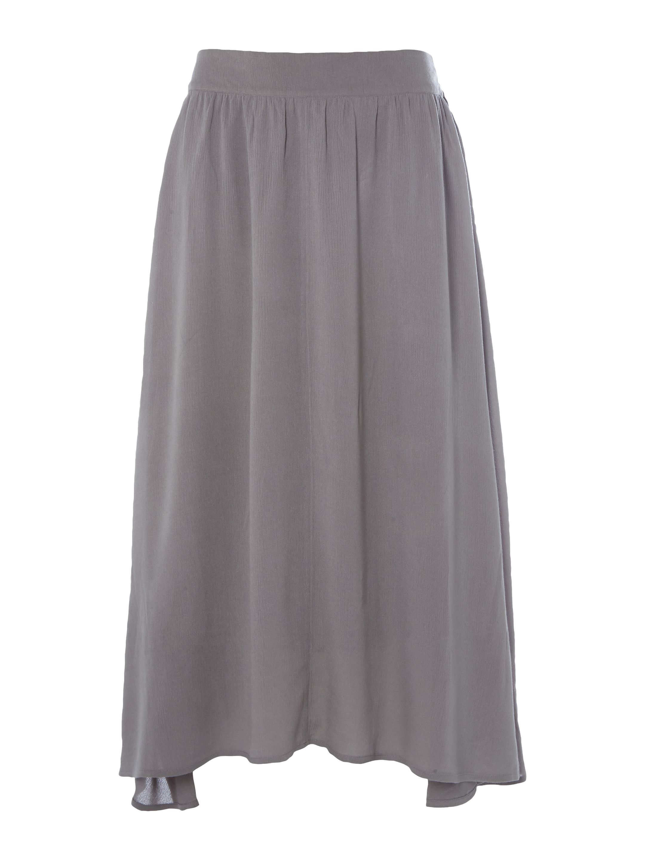 White Stuff Kameni Maxi Jersey Skirt, Grey