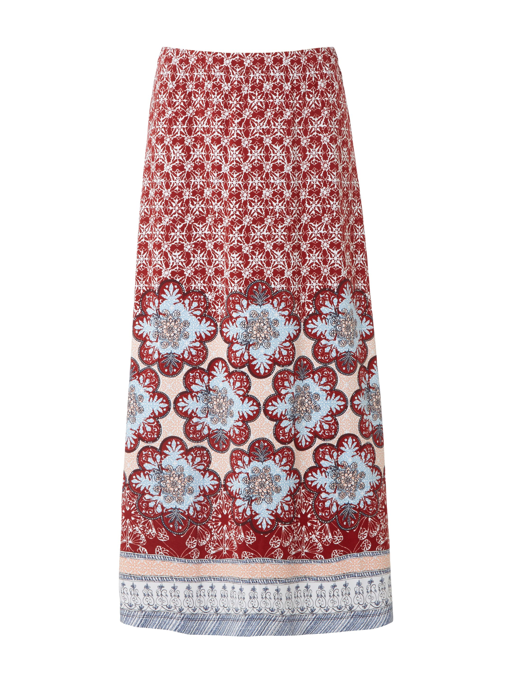 White Stuff Sundance Maxi Jersey Skirt, Red