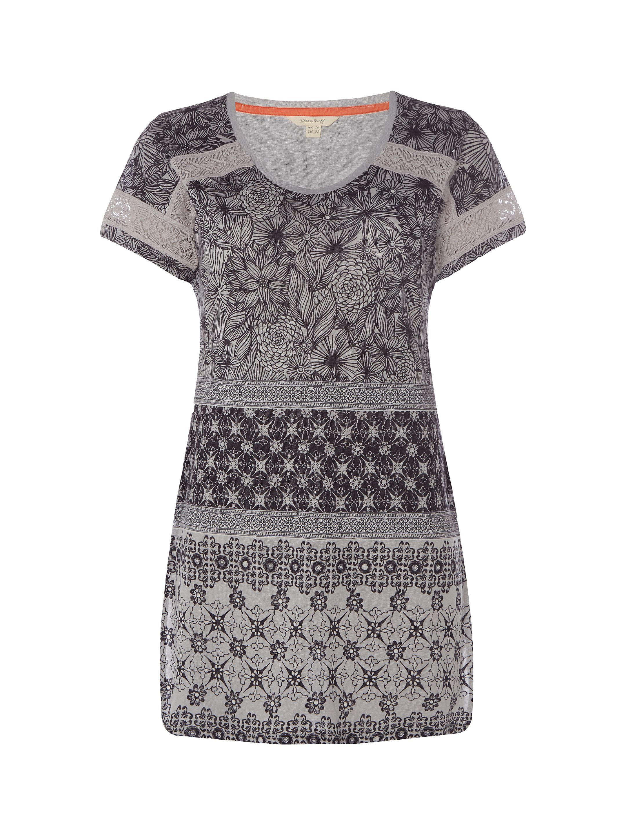 White Stuff Camilla Jersey Tunic, Grey