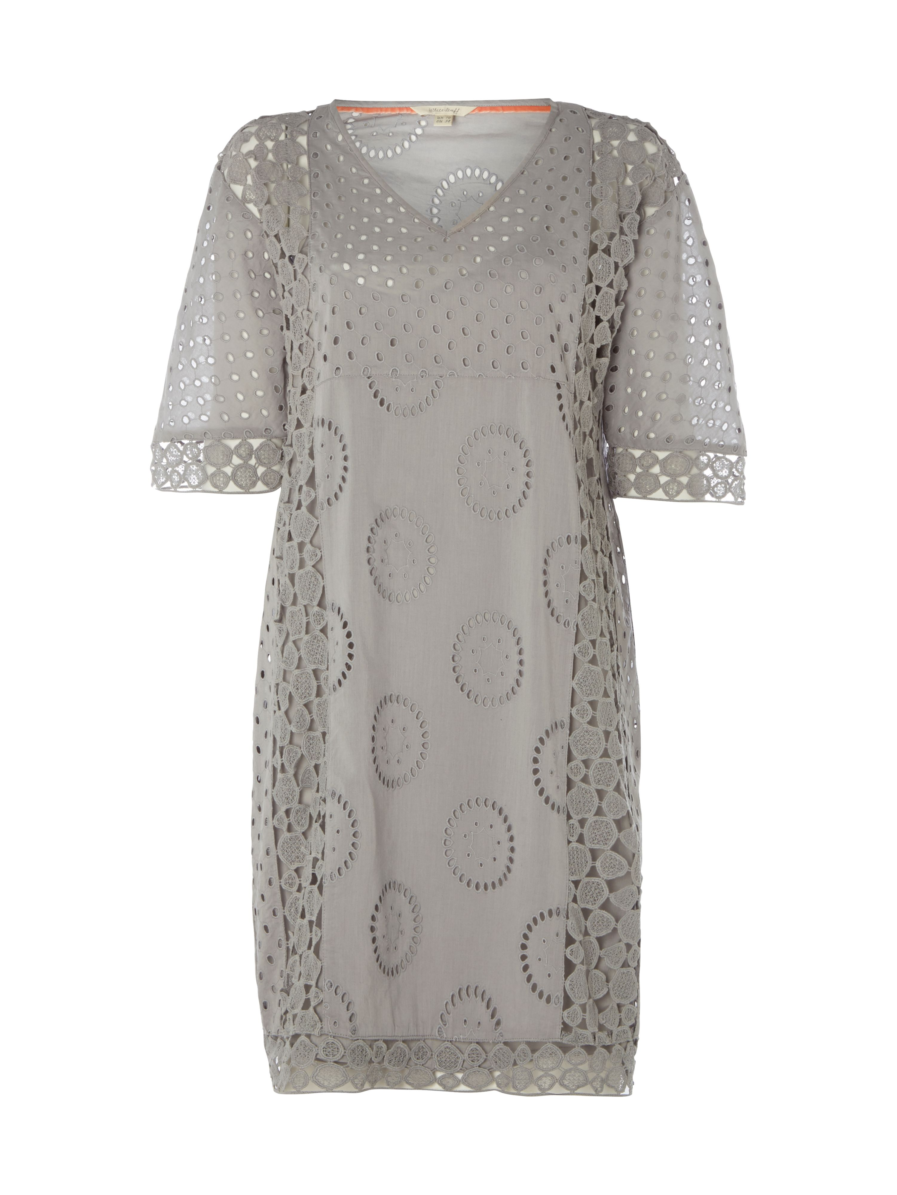White Stuff Reve Dress, Grey