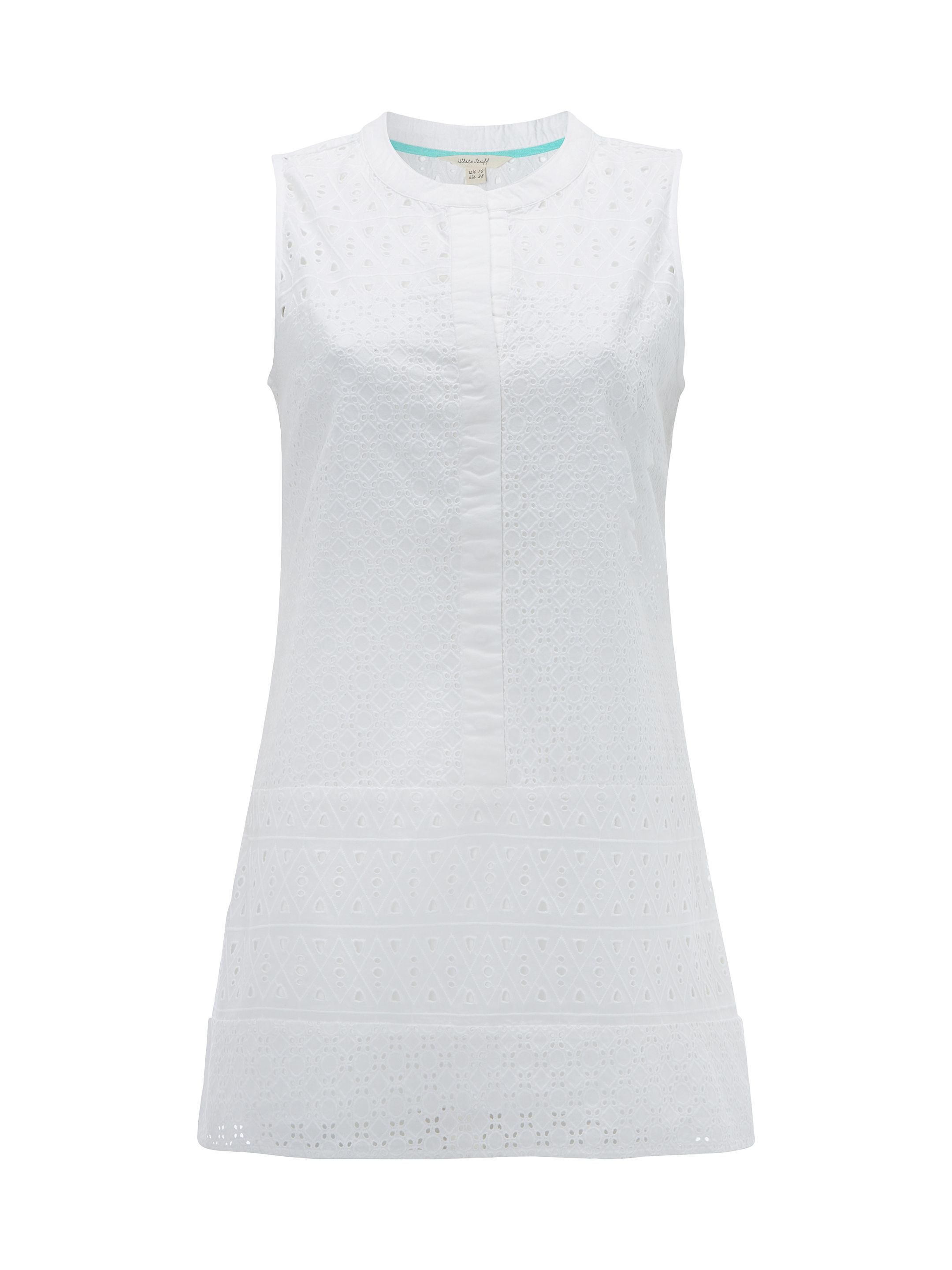 White Stuff Fern Shirt Tunic, White