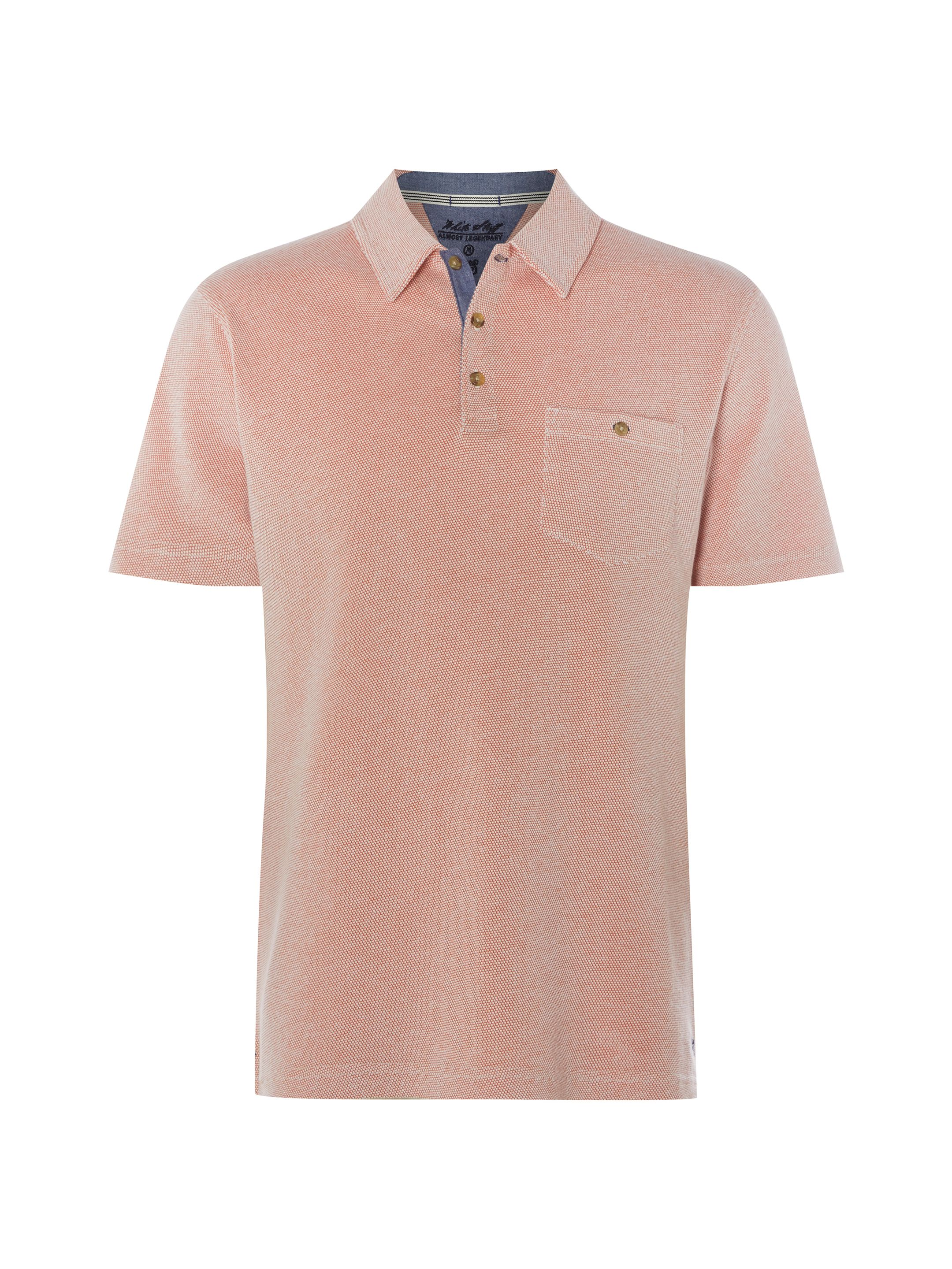 Men's White Stuff Karkalla Polo, Orange