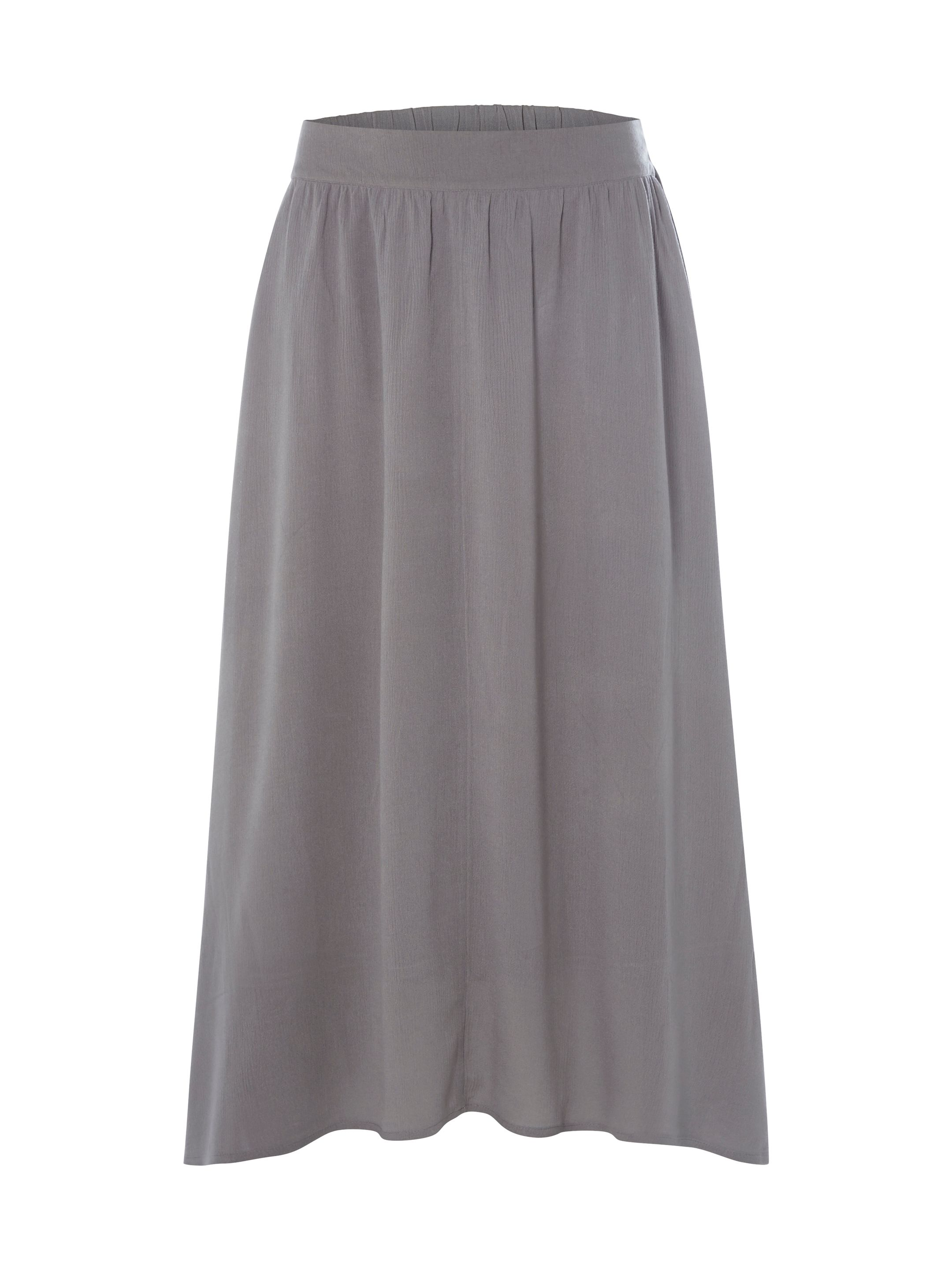 White Stuff Brush Stroke Maxi Skirt, Grey