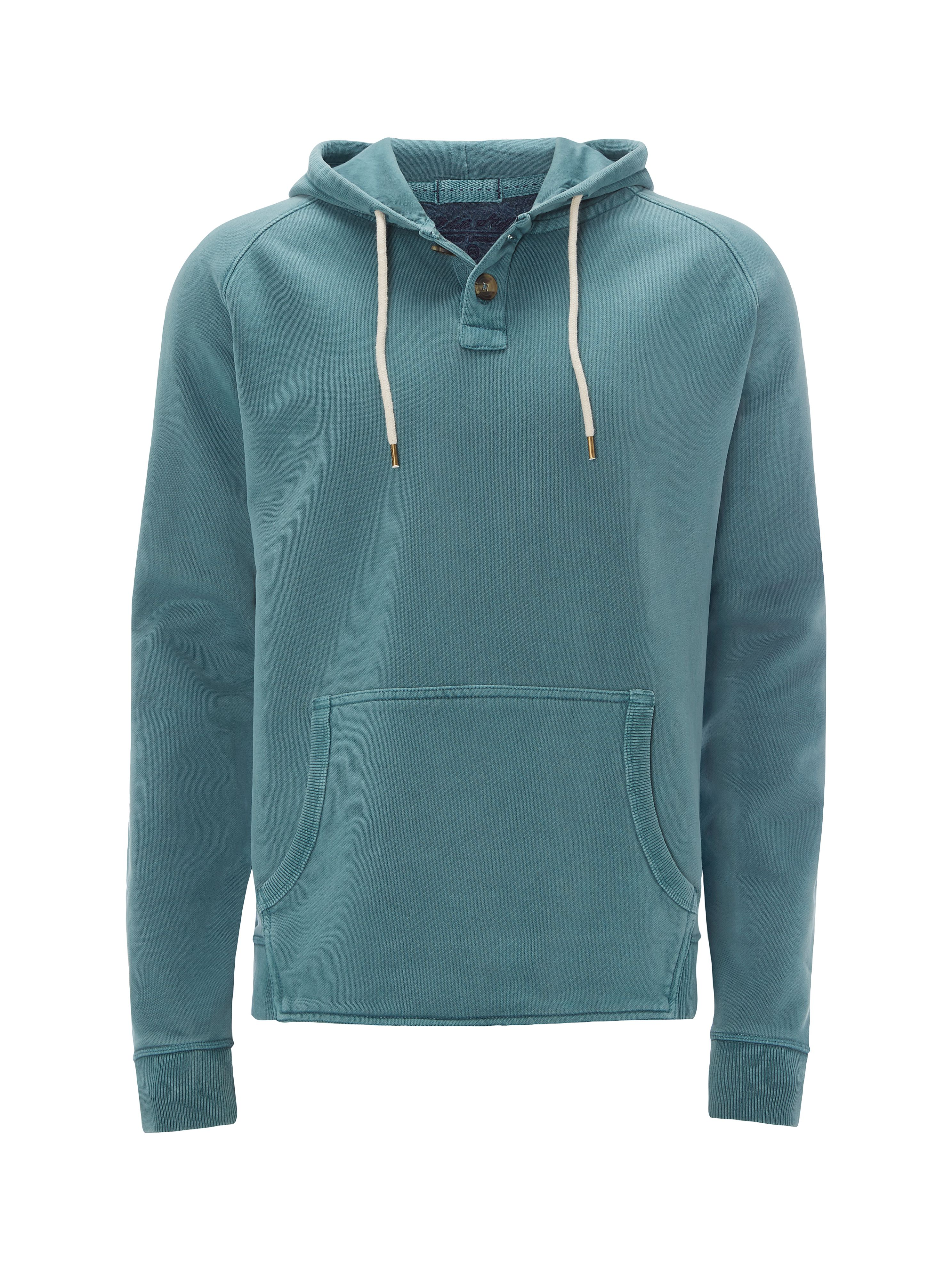 Men's White Stuff Burdock Hoody, Green