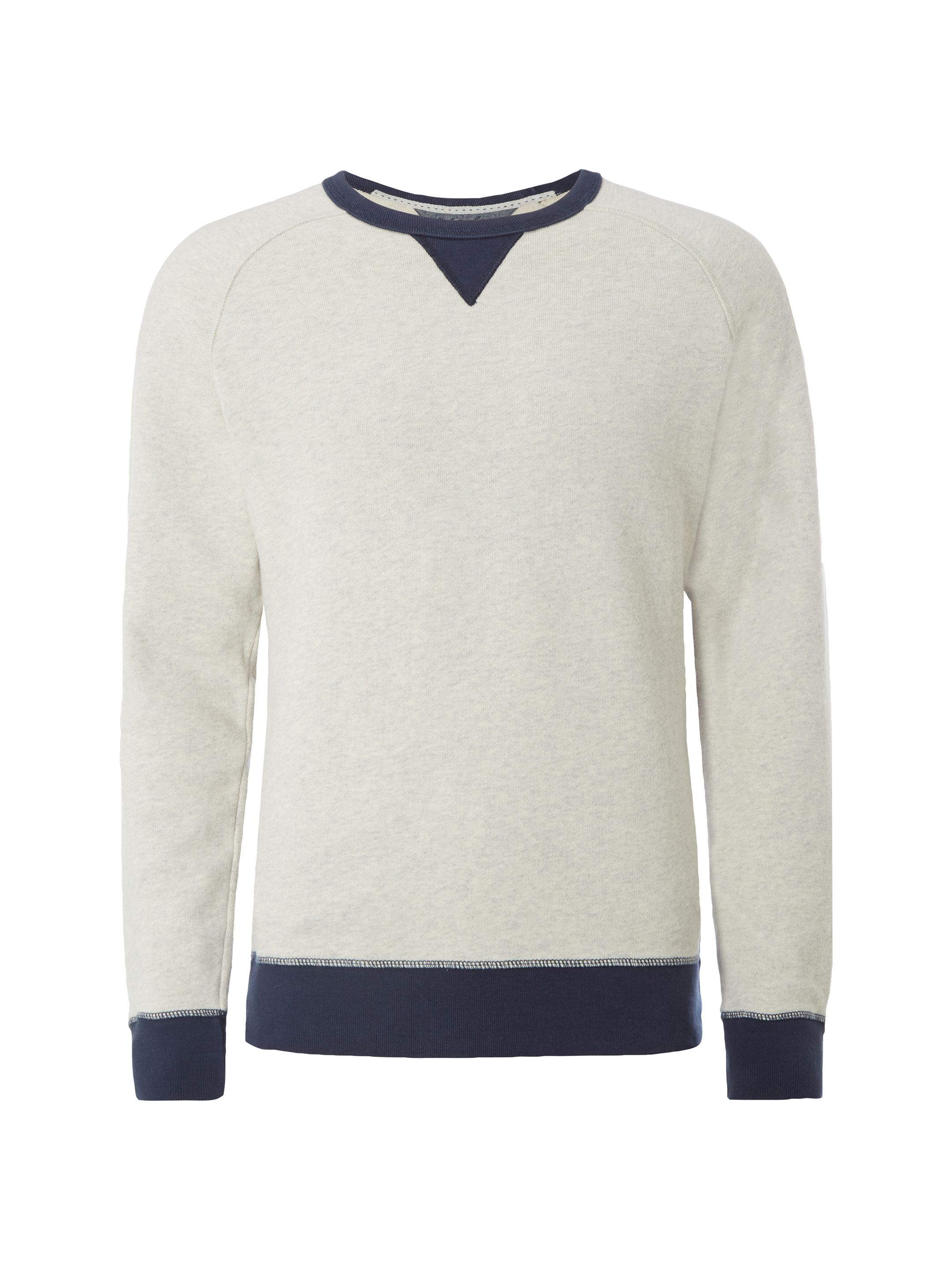 Men's White Stuff Bellhop Crew Sweat, Ecru