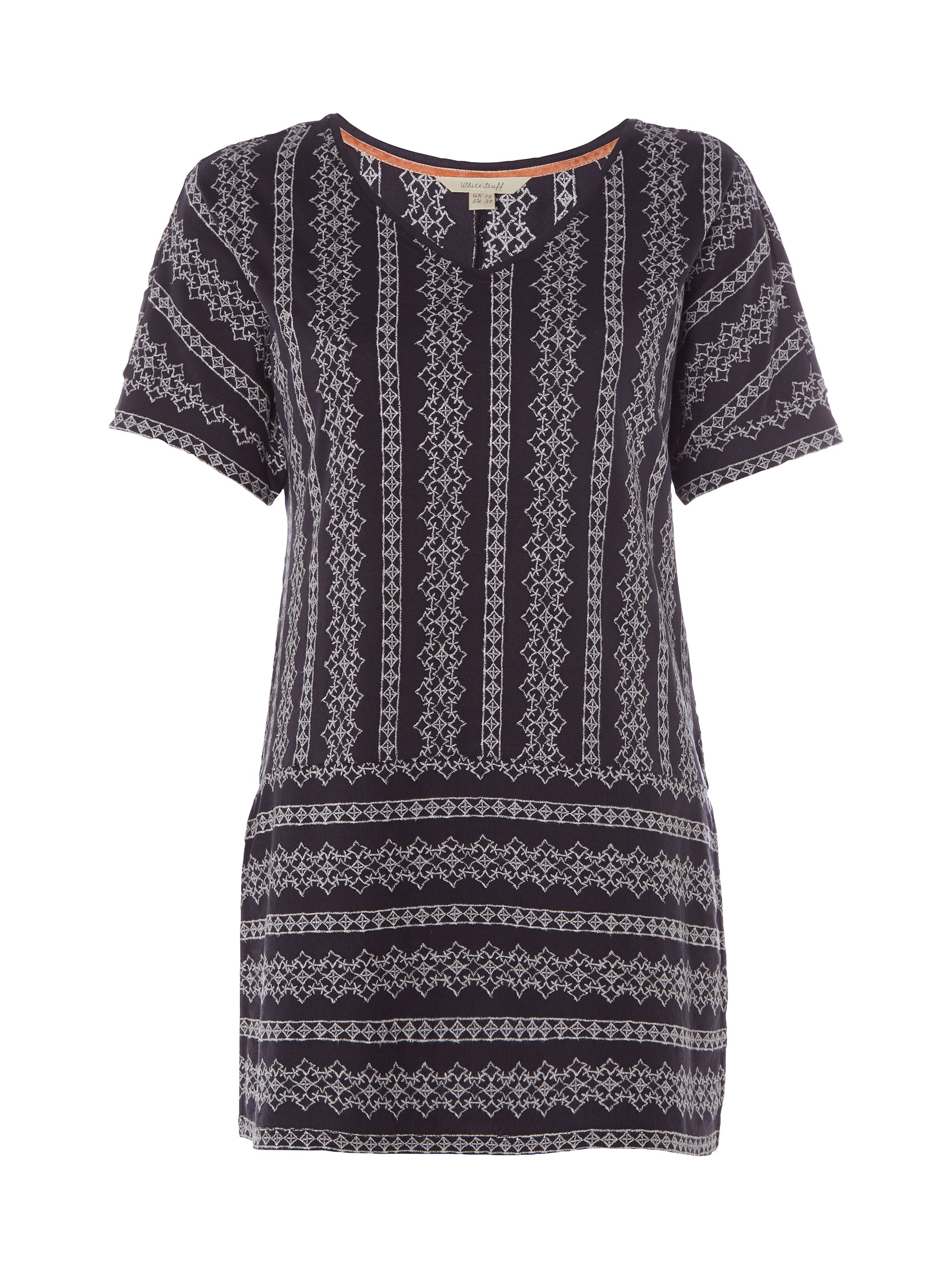 White Stuff Nilly Nolon Jersey Tunic, Grey