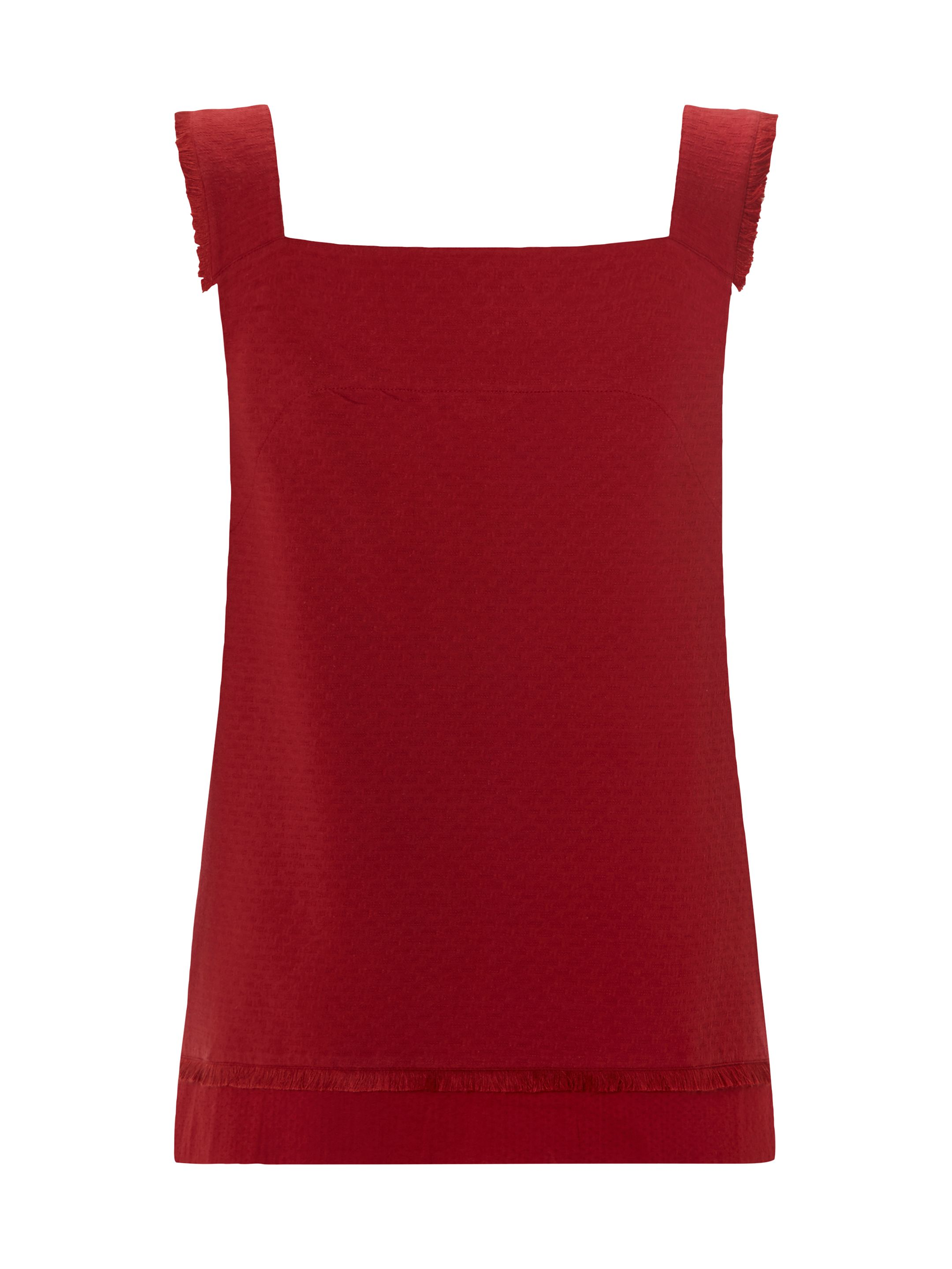 White Stuff Fraya Jersey Vest, Red