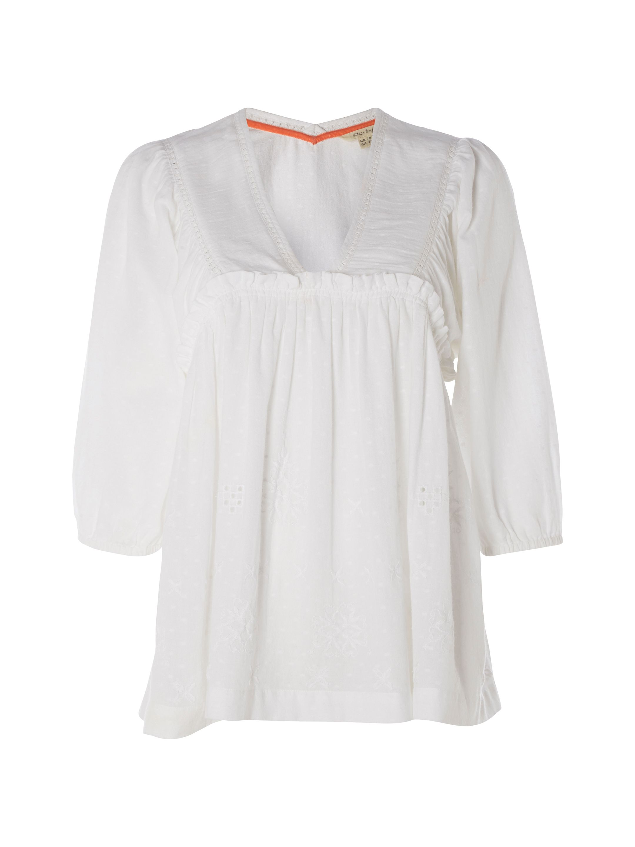 White Stuff Bea Boho Top, White