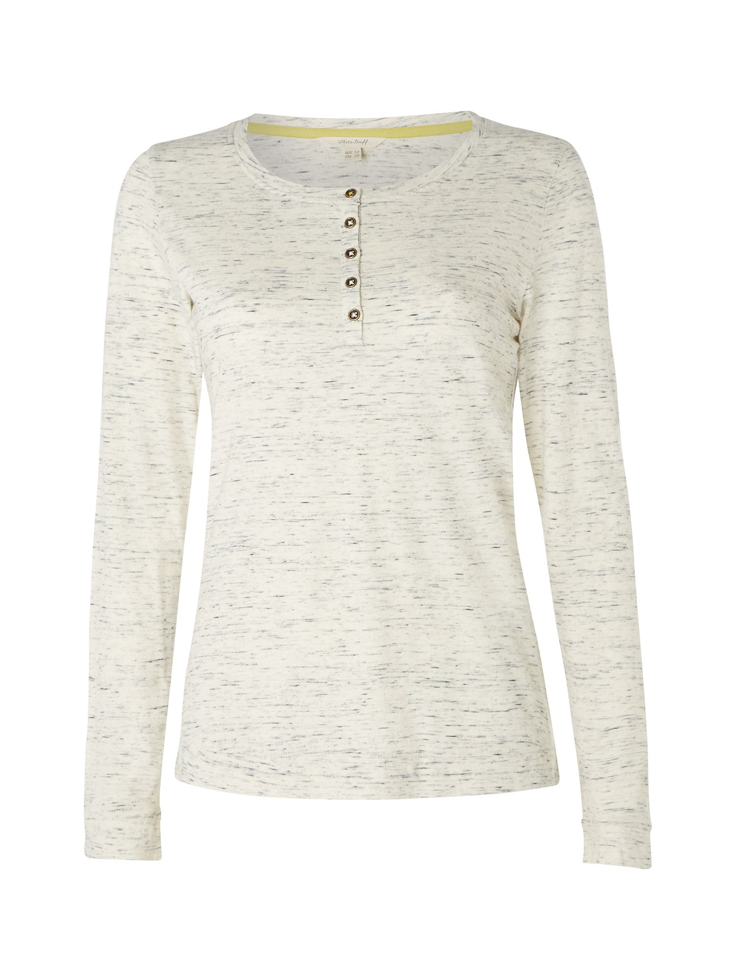 White Stuff Brew Time Ls Tee, Natural