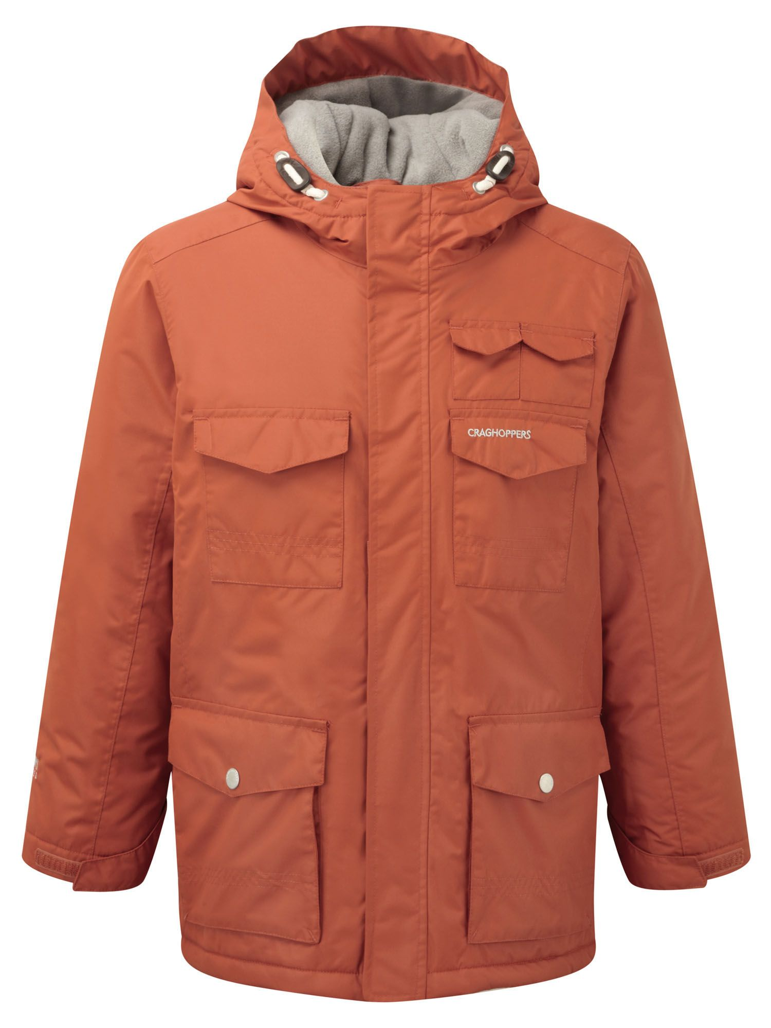 Photo of Craghoppers kids alix waterproof jacket- orange