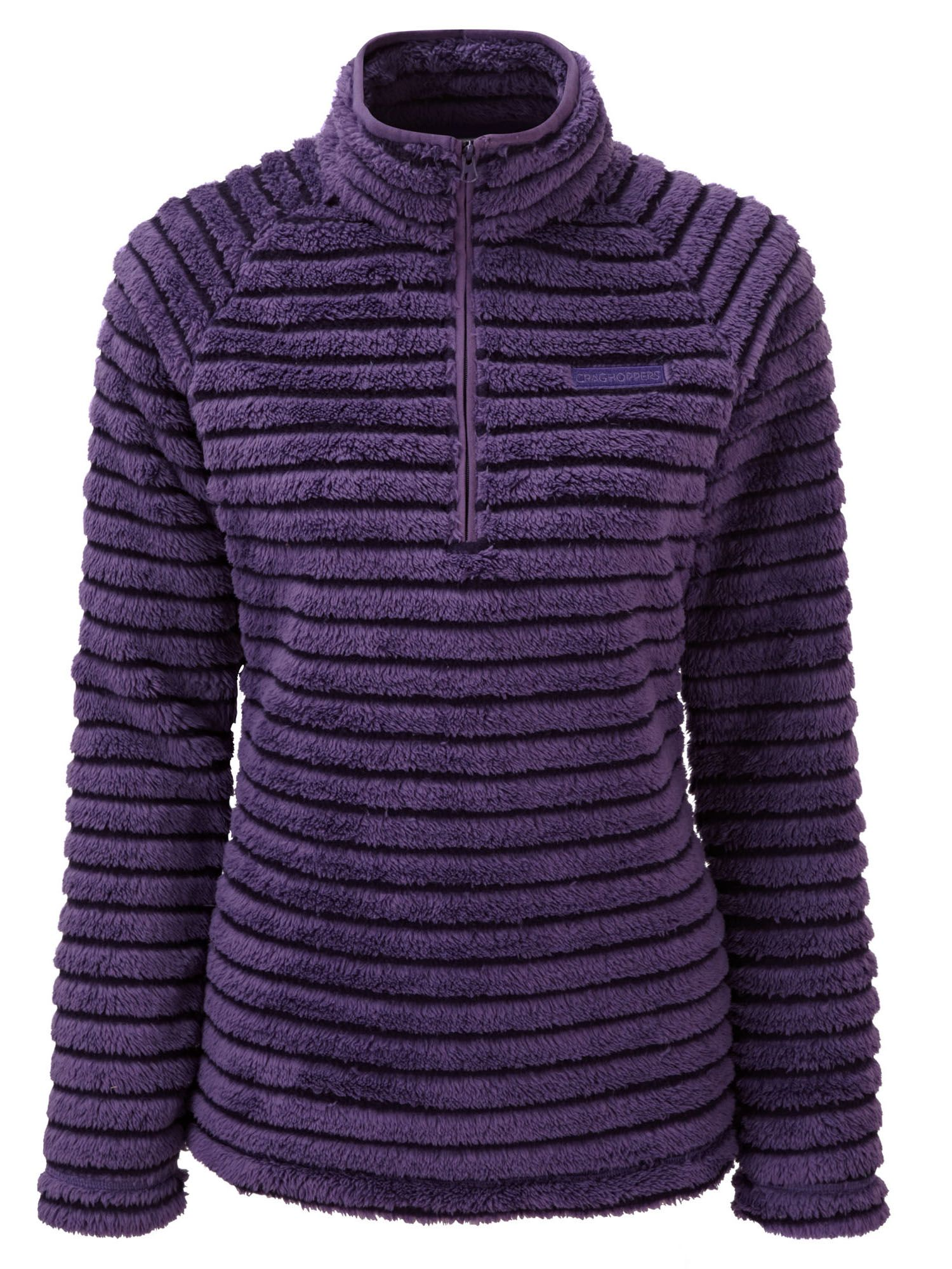 Craghoppers Appleby Half Zip Insulating Fleece, Plum